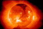 Imagen de Rayos X del Sol