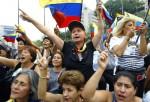 Oposición venezolana insiste en marchar hasta lograr su derecho