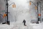 tormenta invernal azota el noreste de EE.UU