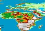 Mapa De La Tierra En 3D