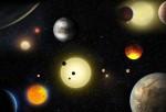 NASA Localiza Nueve Planetas Potencialmente Habitables