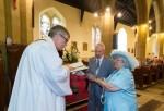 Sally y Colin Dunn se casan después de 44 años de novios