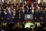 Insensible Acto De George Bush En Funeral De Policías Muertos En Dallas