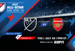 MLS All Stars vs Arsenal