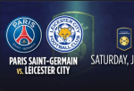 PSG vs Leicester City