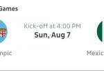 Fiji vs México