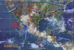 Javier Se Debilita A Depresión Tropical, Pero Provocará Tormentas En Cinco Estados