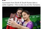 La Selfie Que Unió A Corea del Norte y Corea del Sur En Las Olimpiadas De Río 2016