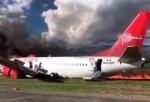 Perú: se incendia un avión con 114 pasajeros a bordo.