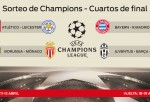 Palpite las cuatro llaves de cuartos de final de la Champions League