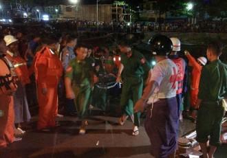Barco que chocó en Birmania deja 20 muertos