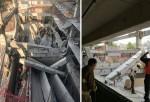 Derrumbe de una estructura en ciudad de México deja 6 muertos y 20 heridos.
